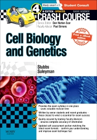 Cover image for Crash Course Cell Biology and Genetics Updated Print + eBook edition