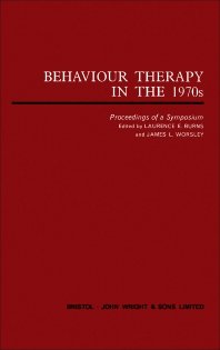 Behaviour Therapy in the 1970s - 1st Edition - ISBN: 9780723602743, 9781483183367