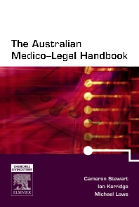 The Australian Medico-Legal Handbook with PDA Software - 1st Edition - ISBN: 9780729577601