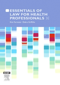 Cover image for Essentials of Law for Health Professionals