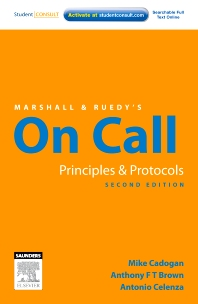 Marshall & Ruedy's On Call: Principles & Protocols - 2nd Edition - ISBN: 9780729539616, 9780729579612