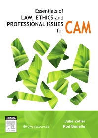 Cover image for Essentials of Law, Ethics, and Professional Issues in CAM
