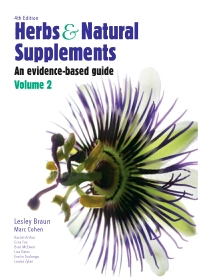 Cover image for Herbs and Natural Supplements, Volume 2