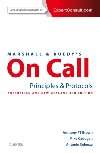 Marshall & Ruedy's On Call: Principles & Protocols - 3rd Edition - ISBN: 9780729542623, 9780729586269