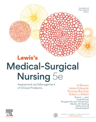 Lewis's Medical-Surgical Nursing - 5th Edition - ISBN: 9780729542920, 9780729587082