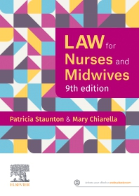 Law for Nurses and Midwives - 9th Edition - ISBN: 9780729543484, 9780729588058