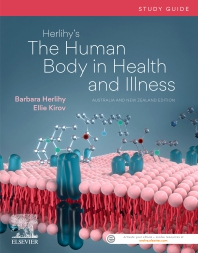 Cover image for Herlihy's The Human Body in Health and Illness Study Guide 1st ANZ edition