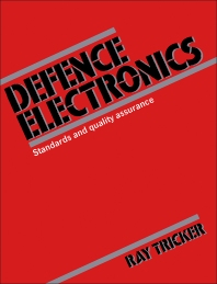 Defence Electronics - 1st Edition - ISBN: 9780750600958, 9781483165516