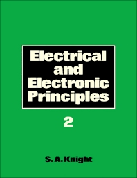 Cover image for Electrical and Electronic Principles