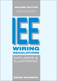 Fine The Iee Wiring Regulations Explained And Illustrated 2Nd Edition Wiring Database Wedabyuccorg