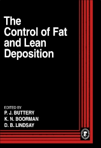 Cover image for The Control of Fat and Lean Deposition