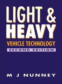 Cover image for Light and Heavy Vehicle Technology