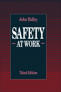 Safety at Work - 3rd Edition - ISBN: 9780750610186, 9781483193748