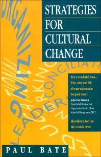 Strategies for Cultural Change - 1st Edition - ISBN: 9780750623285