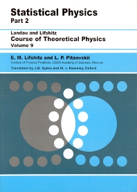 Statistical Physics, 1st Edition,E.M. Lifshitz,L. P. Pitaevskii,ISBN9780750626361