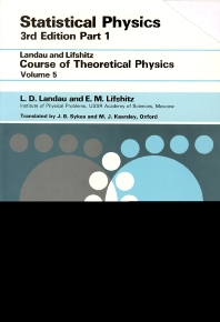 Statistical Physics, 3rd Edition,L D Landau,E.M. Lifshitz,ISBN9780750633727