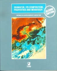 Seawater, 2nd Edition, Open University,ISBN9780750637152