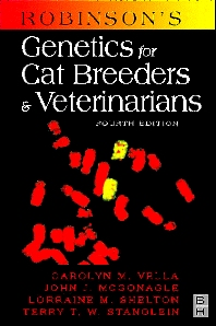 Cover image for Robinson's Genetics for Cat Breeders and Veterinarians