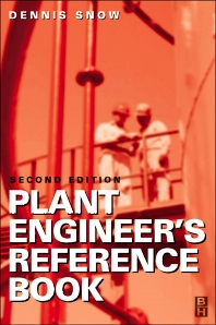 Plant Engineer's Reference Book - 2nd Edition - ISBN: 9780750644525, 9780080497723