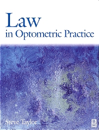 Cover image for Law in Optometric Practice
