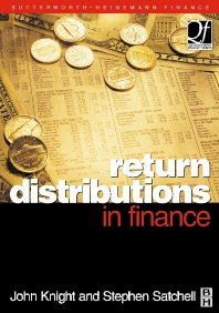 Return Distributions in Finance - 1st Edition - ISBN: 9780750647519, 9780080516240