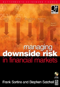 Cover image for Managing Downside Risk in Financial Markets