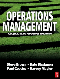Operations Management - 1st Edition - ISBN: 9780750649957