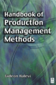 Cover image for Handbook of Production Management Methods