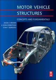 Motor Vehicle Structures - 1st Edition - ISBN: 9780750651349