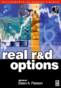 Real R & D Options, 1st Edition,Dean Paxson,ISBN9780750653329