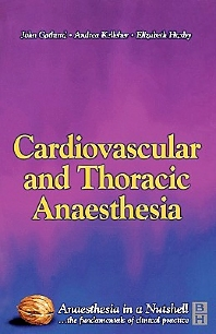 Cardiovascular and Thoracic Anaesthesia