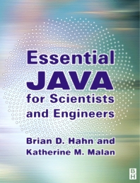Cover image for ESSENTIAL JAVA FOR SCIENTISTS AND ENGINEERS