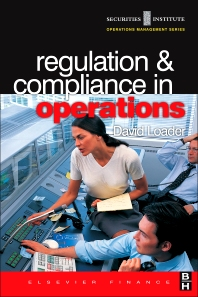 Cover image for Regulation and Compliance in Operations