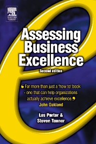 Assessing Business Excellence - 2nd Edition - ISBN: 9780750655170