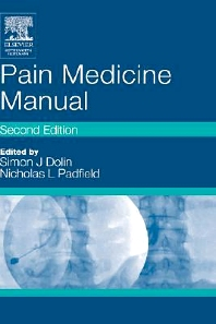 Cover image for Pain Medicine Manual