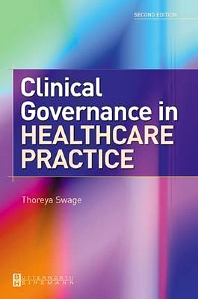 Cover image for Clinical Governance in Healthcare Practice