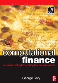 Computational Finance, 1st Edition,George Levy,ISBN9780750657228