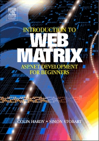 Cover image for Introduction to Web Matrix