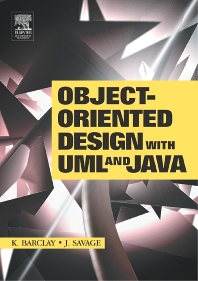 Cover image for Object-Oriented Design with UML and Java