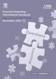 Cover image for Financial Reporting International Standards November 2003 Q&As