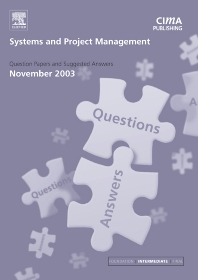 Cover image for Systems and Project Management November 2003 Exam Q&As