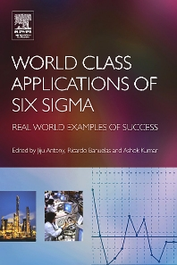 World Class Applications of Six Sigma - 1st Edition - ISBN: 9780750664592