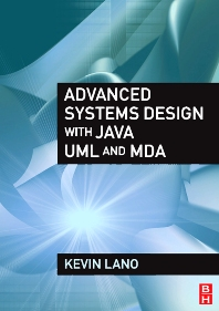 Cover image for Advanced Systems Design with Java, UML and MDA
