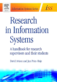 Research in Information Systems - 1st Edition - ISBN: 9780750666558, 9780080575391