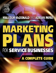 Cover image for Marketing Plans for Service Businesses