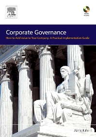 Corporate Governance - 1st Edition - ISBN: 9780750669245, 9780080476889