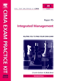 Cover image for CIMA Exam Practice Kit Integrated Management