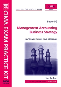 Cover image for CIMA Exam Practice Kit Management Accounting Business Strategy