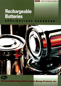 Cover image for Rechargeable Batteries Applications Handbook
