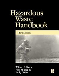 Cover image for Hazardous Waste Handbook